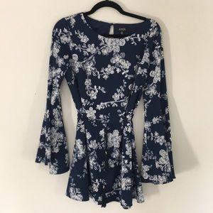 ANGL blue dress